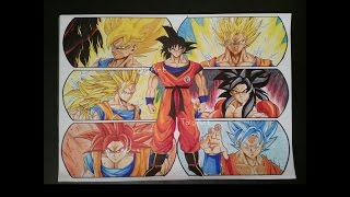 Drawing Goku ► The Hope of the Universe