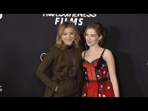 "Chloe Grace Moretz and Zoey Deutch ""Before I Fall"" Los Angeles Premiere"