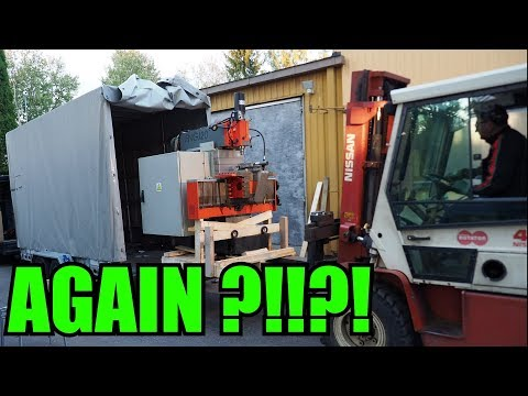 My Dad Bought Second Cheap Milling Machine from Auction!