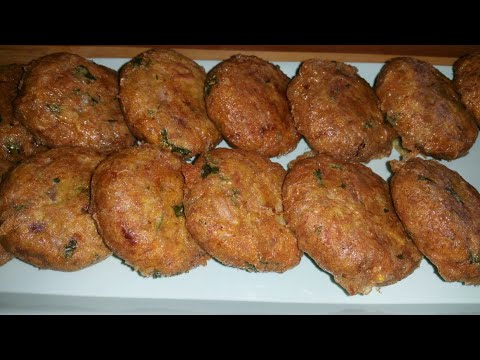 Tuna kebab recipe/How to make tuna kabob recipe| Simple and easy recipe|