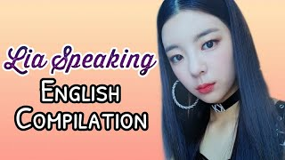 ITZY LIA Speaking English Compilation