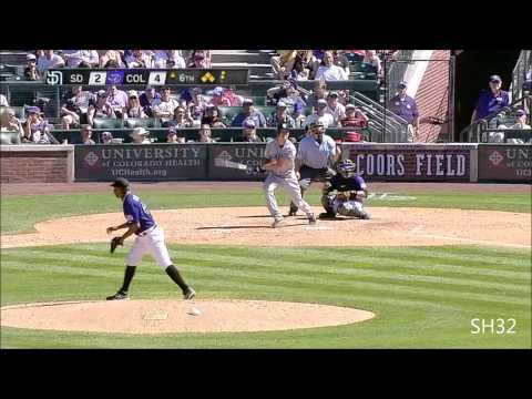 """Carlos González - Colorado Rockies 2013 Highlights HD """"CarGo"""""""