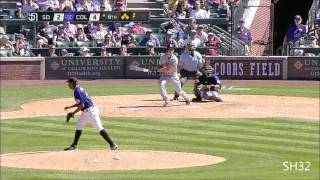 "Carlos González - Colorado Rockies 2013 Highlights HD ""CarGo"""
