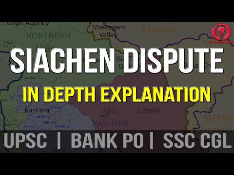 Siachen Dispute Explained (UPSC | BANK PO| SSC CGL)