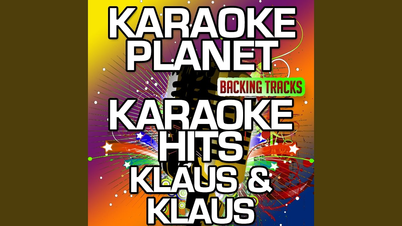 da steht ein pferd auf m flur karaoke version with background vocals originally performed by