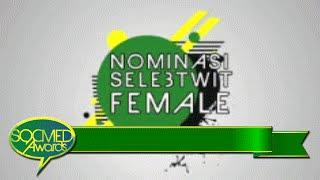 Nominasi Selebtwit Female I Socmed Awards 2016
