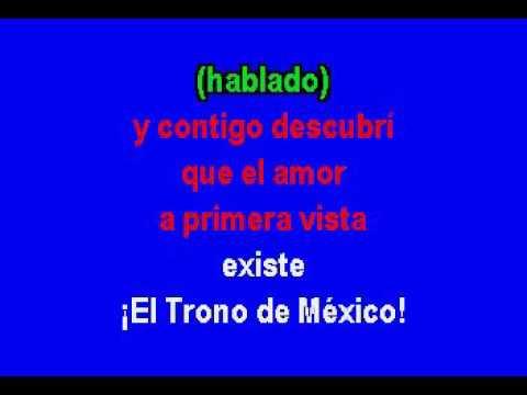 Te ves fatal   El Trono de Mexico Karaoke