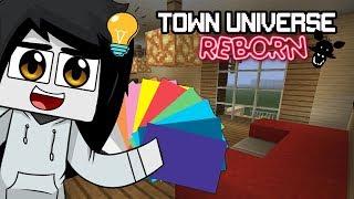 TOWN UNIVERSE REBORN: DECORANDO Y RECONSTRUYENDO #29 (Minecraft Serie de Mods)