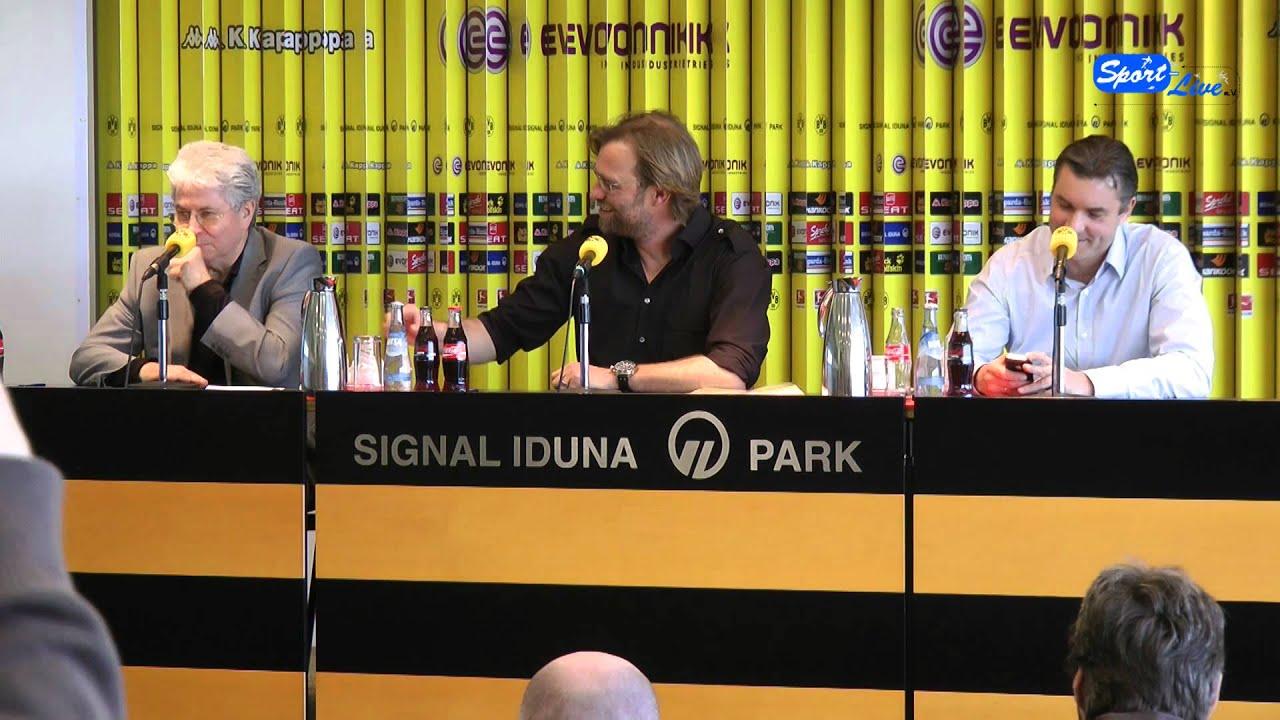 Josef und Jürgen - Das Beste aus 2 Jahren PK`s des BVB