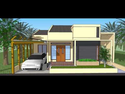 desain rumah kost mungil