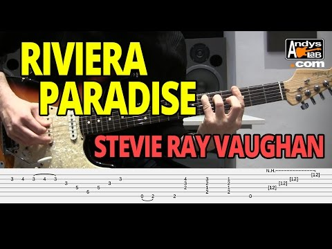 Riviera Paradise by Stevie Ray Vaughan - Guitar Lesson