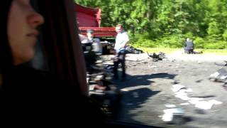 Авария по дороге в Витебск