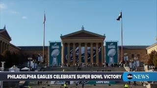 Philadelphia Eagles Super Bowl Parade 2018: MVP Nick Foles, team celebrate championship  | ABC News