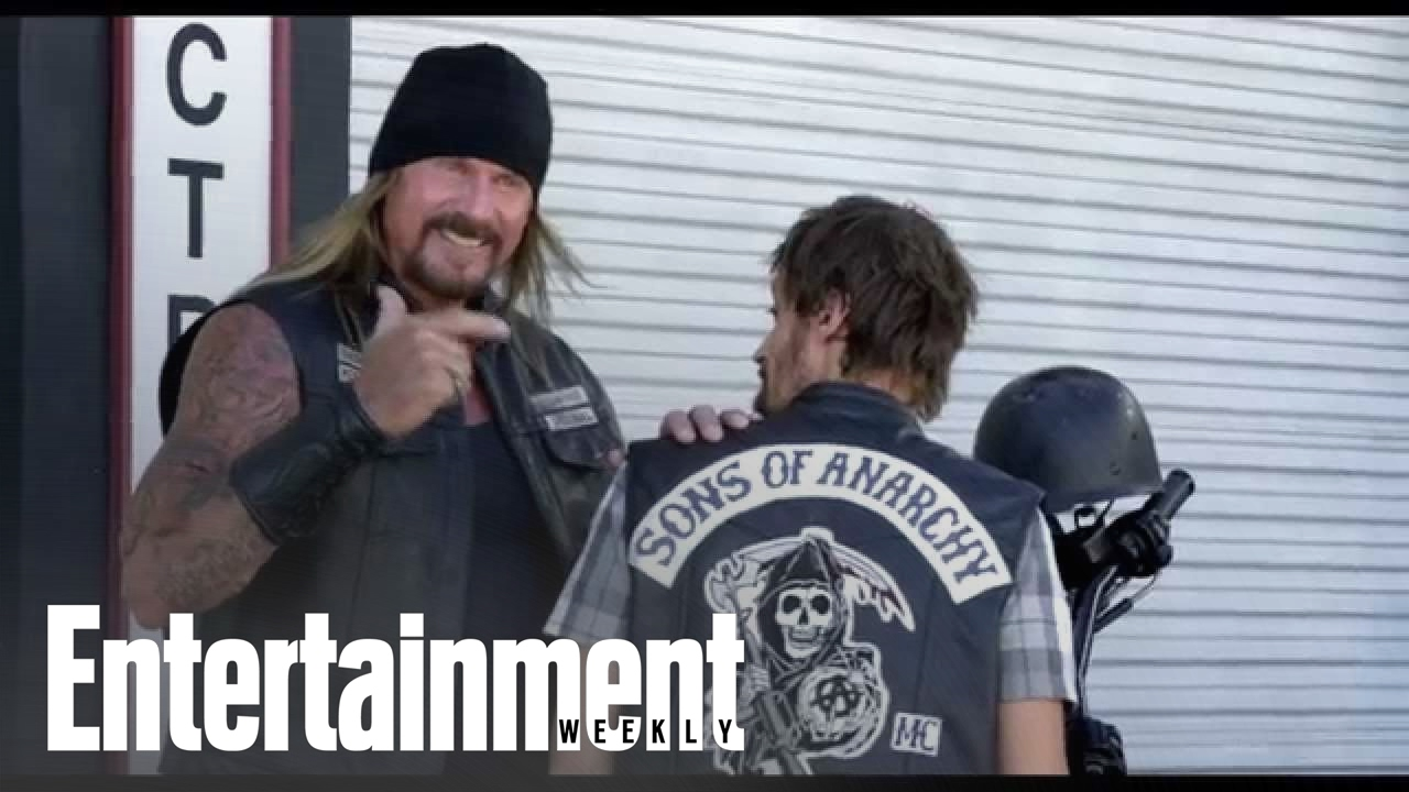 Charlie Hunnam Katey Sagal The Cast Of Sons Of Anarchy