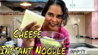 How To Cook Creamy Cheesy Instant Noodle Under 5 Minutes // How To Make Cheese Ramen