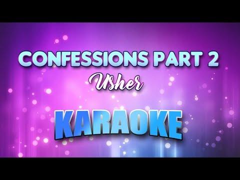 Usher - Confessions Part 2 (Karaoke & Lyrics)