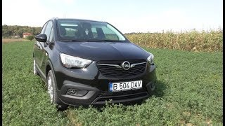 Review Opel Crossland X 2018, 1.2 litri Turbo, Benzina de 130 HP (romana)