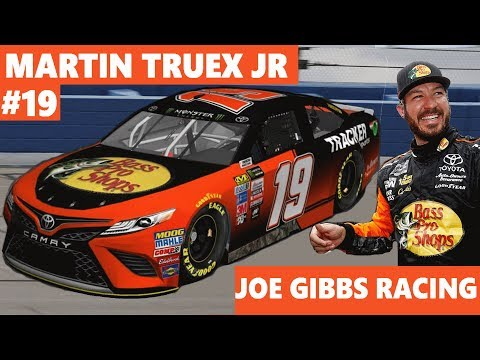 ANOTHER STAGE WIN FOR MTJ!  Martin Truex Jr to the #19 Joe Gibbs Racing Toyota in 2019