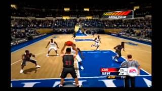 NCAA March Madness 2005 Rivalry Game Flashback Cincinnati vs Xavier Retro Gameplay