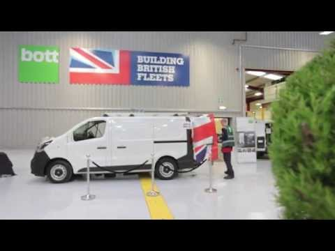 Building British Fleets: Van wrap time-lapse HD