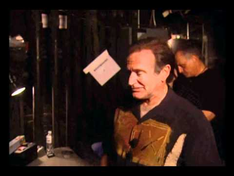 Robin Williams Backstage before Live on Broadway - 2002