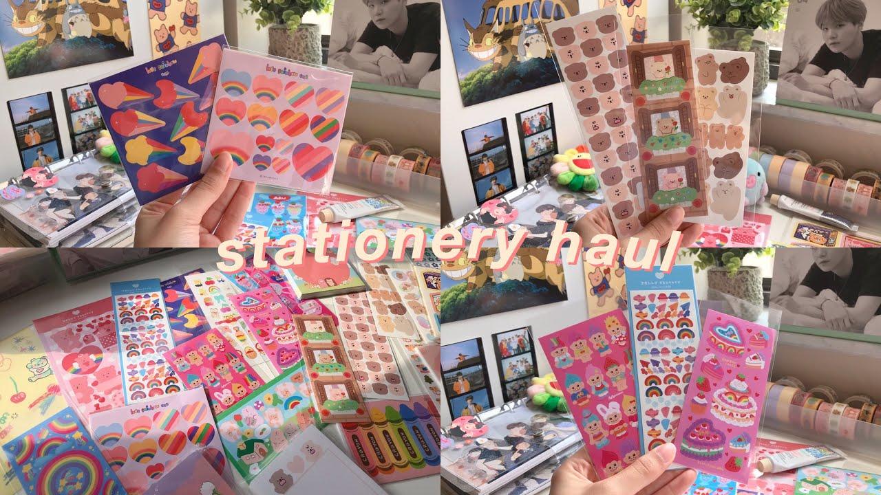 stationery haul 🦋