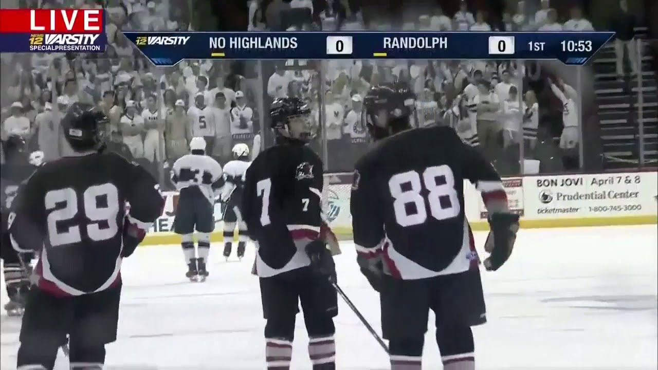 Ice Hockey Video Replay Northern Highlands Tops Randolph For Public