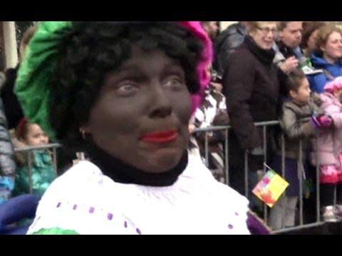dutch black pete christmas custom sparks protests youtube - Black People Christmas