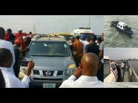 Man jumps off Third Mainland Bridge in Lagos [Watch Video]