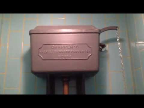 Jamie's Italian toilets, Shepard's Bush, London HL Thomas Crapper & Venerable