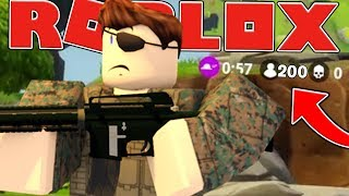 THE LARGEST GAME IN HISTORY? - ROBLOX FORTNITE BATTLE ROYALE (ISLAND ROYALE) #14