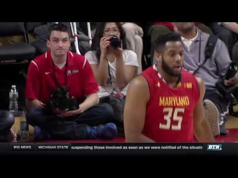 Maryland at Rutgers - Men's Basketball Highlights
