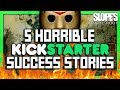 5 Horrible Kickstarter Success Stories - SGR