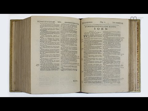 The Eliot Indian Bible