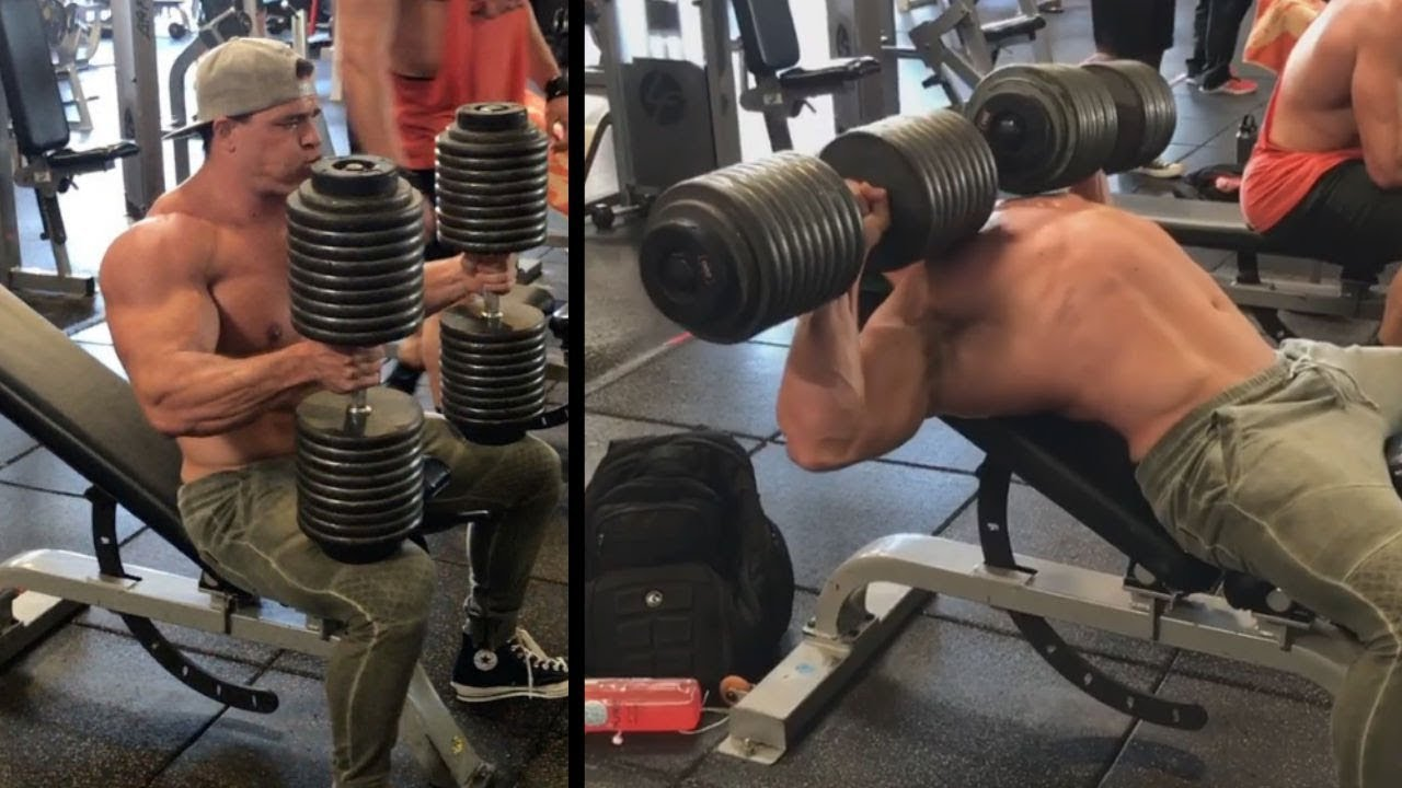 91327582 WATCH: Proof That Brad Castleberry Lifted REAL Weights