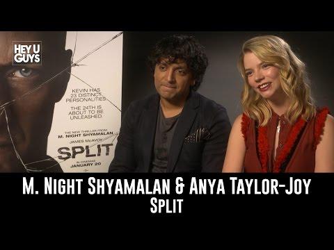 M. Night Shyamalan & Anya Taylor-Joy Exclusive Interview - Split