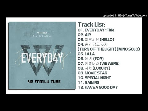 [Full Album] WINNER – EVERYD4Y [The 2nd Album]