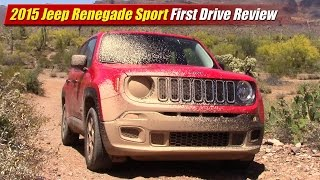 2015 Jeep Renegade Sport First Drive Review