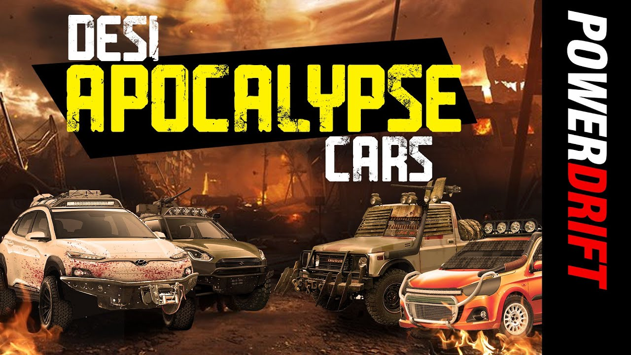 Best Indian Cars and Motorcycles for the Apocalypse | Know Your Shift | PowerDrift