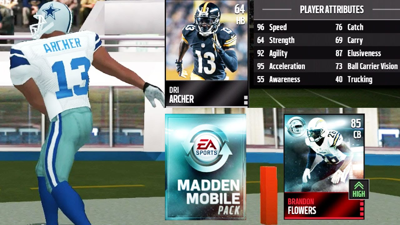 Madden NFL 16 Mobile Gameplay - AUCTION HOUSE UPDATE! Madden ...