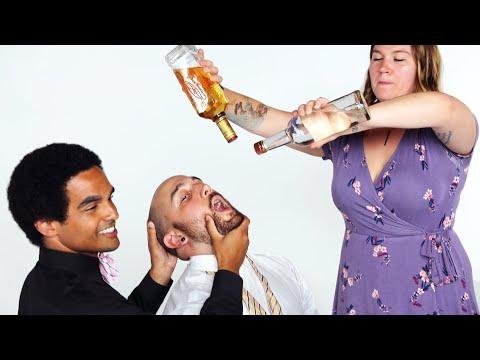 Groom & Groomsmen Play Truth or Drink