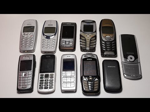 Огромная посылка ретро телефонов из Германии. Nokia 6310, Nokia 5100, 6230i, E65