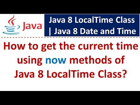how-to-get-the-current-time-using-now-methods-of-java-8-localtime-class?-|-java-8-date-and-time