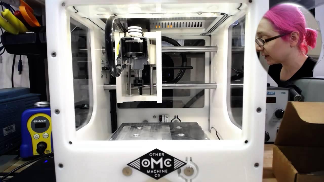 Othermill PCB milling @othermachine #DeskofLadyada @adafruit 3/13/16