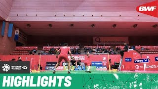 Barcelona Spain Masters 2020 | Finals MD Highlights | BWF 2020