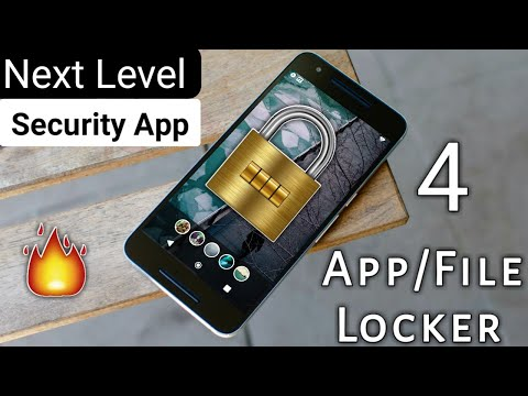 4 New Best App Or File Locker Application For Android 2018 | 4 New Security App For Android 2018