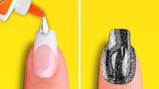 PERFECT MANICURE DIY PROJECTS || Nail Beauty Hacks by 5-Minute DECOR!