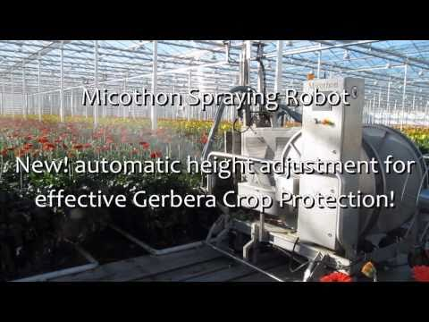 NEW! Micothon Spraying Robot with Automatic Height Adjustment!