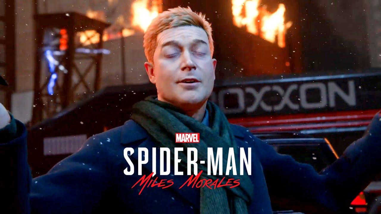 Spider Man Miles Morales Meets Simon Krieger