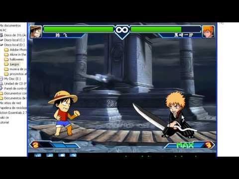 Descargar Anime Fighting Jam  (EXE) Juegos De Naruto